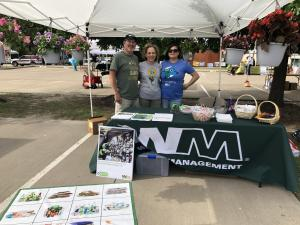 Waste Management at Cedar Fill Earth Fest