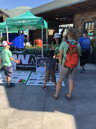 Waste Management at a community event