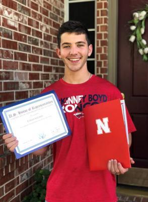 Ethan Weldon, High School first place