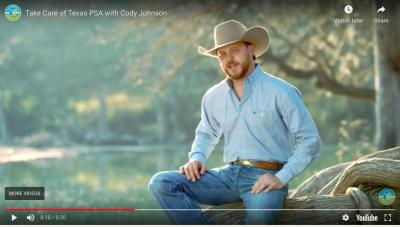 screenshot from Cody Johnson music video