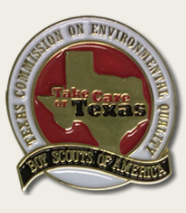 Take Care of Texas Boy Scouts pin