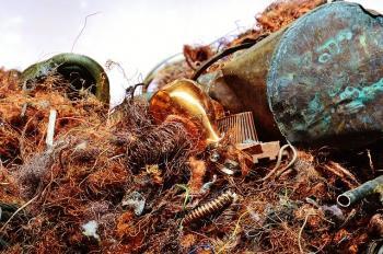 copper and scrap metal