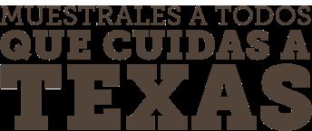 Placa de Cuide Texas