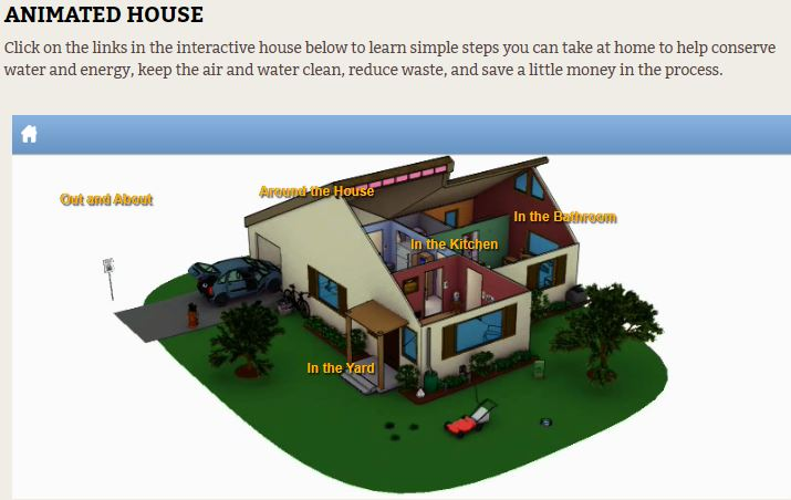 Take Care of Texas Animated House Tool image