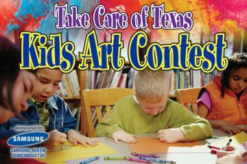 Take Care of Texas Announces Kids Art Contest