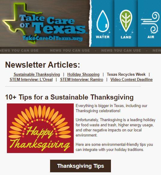 November NYCU newsletter