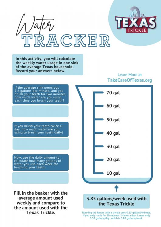 Water Tracking Document
