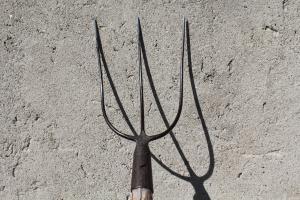 three prong pitchforck