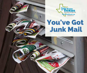 You've Got Junk Mail Graphic