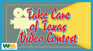 Take Care of Texas Video Contest logo