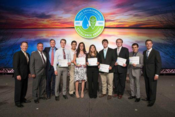 Austin, Texas May 16, 2018: Texas Commission on Environmental Quality's Environmental Excellence Awards ceremony at the Austin Convention Center. Photos by Bob Daemmrich and Erika Rich