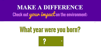 Check out your impact calculator tool image