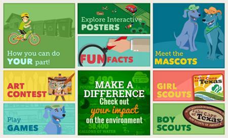 Kids resource webpage Screen Shot