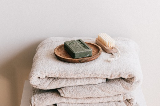 Towels and Soap Bar