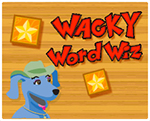 Wacky Word Quiz game graphic
