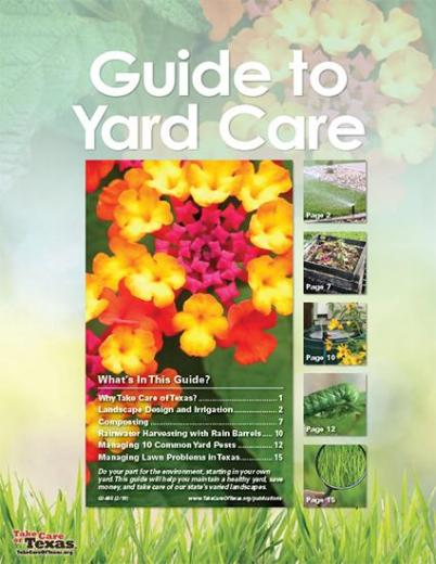 Cover for Guide to Yardcare