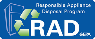 EPA's Responsible Appliance Disposal Program logo