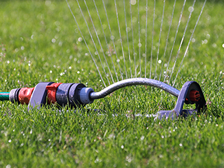 lawn watering sprinkler head